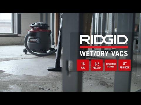 RIDGID 16 Gallon NXT Professional Industrial Blower Vac