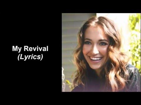 Lauren Daigle - My Revival (Lyrics)
