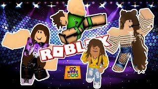 ROBLOX DANCE OFF COMPETITION WACKY PACK FAMILY GAMING TEAM PLAYS! TEAMS VS CHALLENGE BEST DANCE SHOW