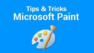 Tutorial: Learn MS (Microsoft) Paint - Tips & Tricks (How to)