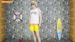 Gradual change beach swim shorts men board shorts OEM services BST0266