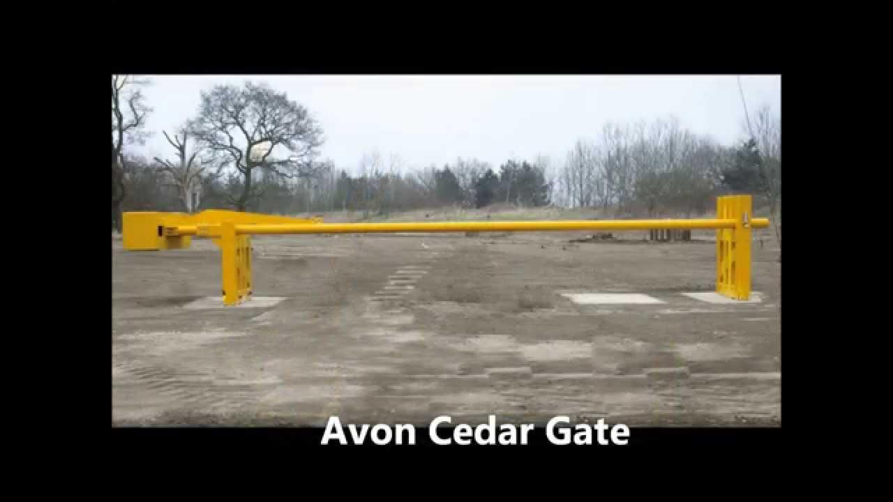 Avon Cedar Gate Manual Rising Arm Gate Pas 68 Test