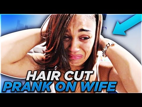 'HAIRCUT PRANK ON WIFE' GETS VERY EMOTIONAL | THE PRINCE FAMILY