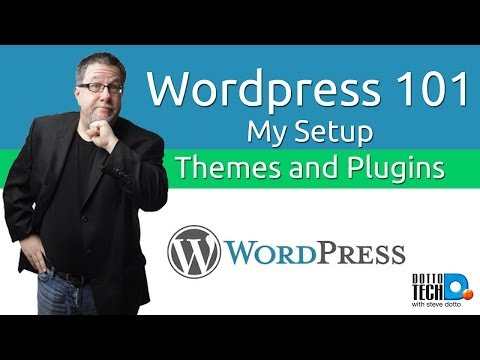 WordPress, Using Themes and Plugins