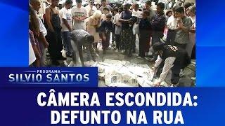 Câmera Escondida (10/07/16) - Defunto na Rua