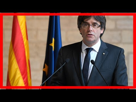 US Newspapers - Belgium hopes to act on arrest warrant for catalan leader who is in hiding