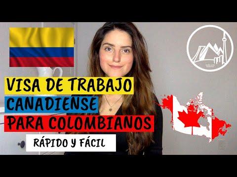 COLOMBIANOS! Visa De Trabajo Canadá Acelerada L Tickets Webinar