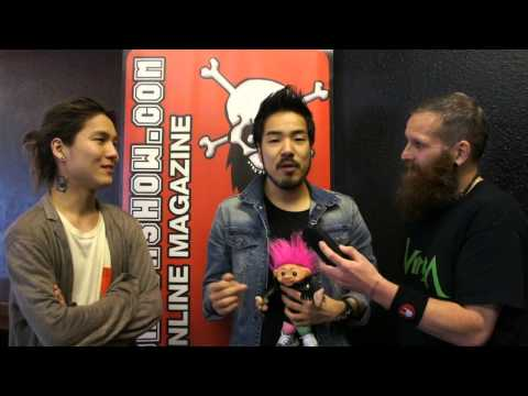 Crossfaith Interview Slam Dunk 2015