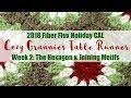 2018 Fiber Flux Holiday CAL: Cozy Grannies Table Runner Week 2