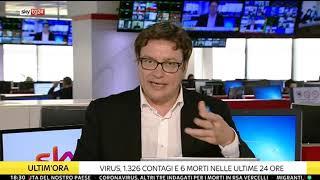 2 settembre 2020 - Dati e analisi emergenza coronavirus per Sky Tg24 a cura di Giorgio Sestili