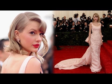Taylor Swift Met Gala 2014 Fashion Mishap