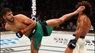 Beautiful Taekwondo Kicks Dominating In MMA | Yair