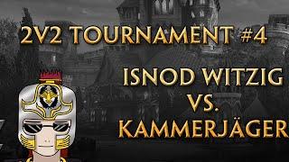 SmitegameDE 2v2 Tournament #4 - iSnod Witzig vs. Kammerjäger