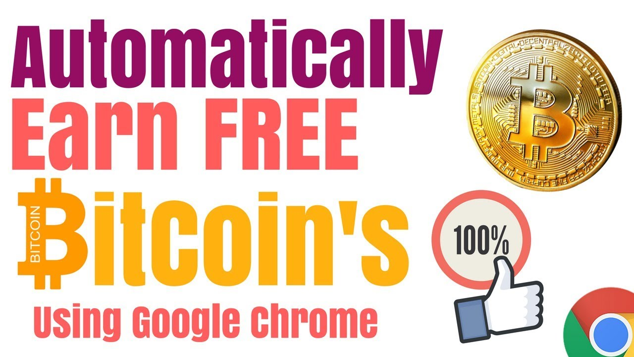 How To Earn Free Bitcoins Automatically Do Nothing -