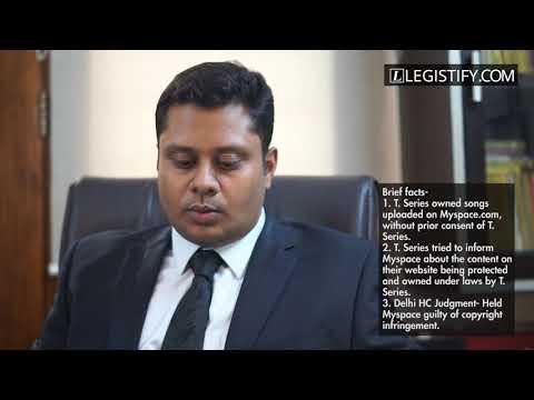 Online Copyright Infringement in India   MySpace vs T. Series   Legistify.com
