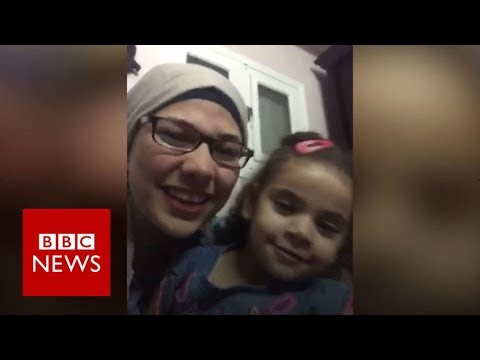 NHS doctor separated from daughter - BBC News