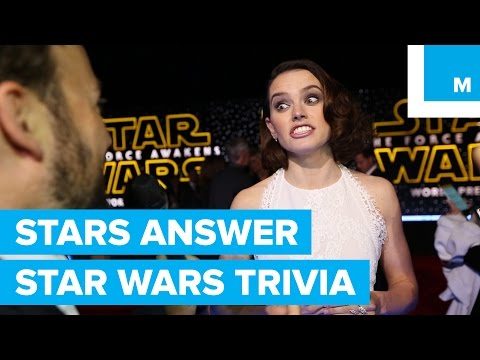'Star Wars: The Force Awakens' Actors Not Very Good at Star Wars Trivia | Mashable