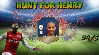 OUR BEST PACKS EVER!! Fifa 18 ultimate team! Hunt for Henry 4+5!!