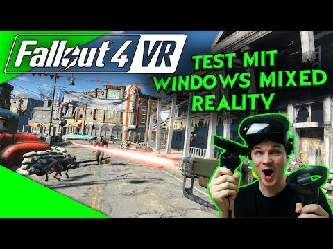 Fallout 4 VR - Live aus dem Wasteland! [Let's Play][Gameplay][Samsung Odyssey][Virtual Reality]