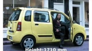 2000 Suzuki Wagon R+ 1.3 - Specs and Info
