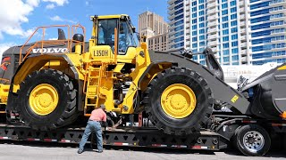 Volvo's Biggest Wheel Loader Moving from Conexpo 2020