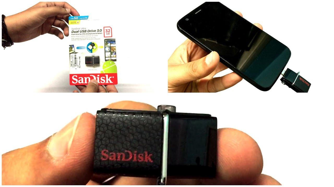 5 Sandisk Ultra Dual 32gb Usb 30 Otg Pen Drive T Sddd2 128gb