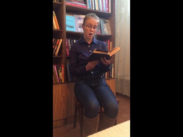 Изображение предпросмотра прочтения – ИринаЧеботарь читает отрывок изпроизведения «Кони» В.И.Белова