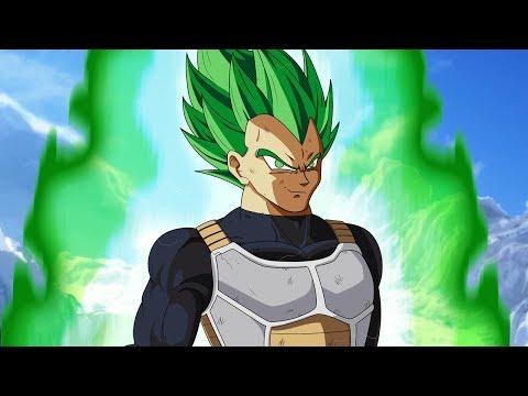 Super Saiyan GREEN Vegeta in Dragon Ball Super Broly THEORY