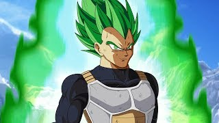 Super Saiyan GREEN Vegeta in Dragon Ball Super Broly THEORY