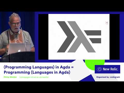 (Programming Languages) In Agda = Programming (Languages In Agda) By Philip Wadler
