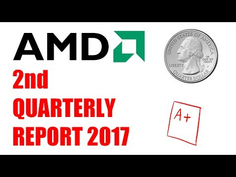 AMD stock 2nd Quarterly Report Predictions 2017