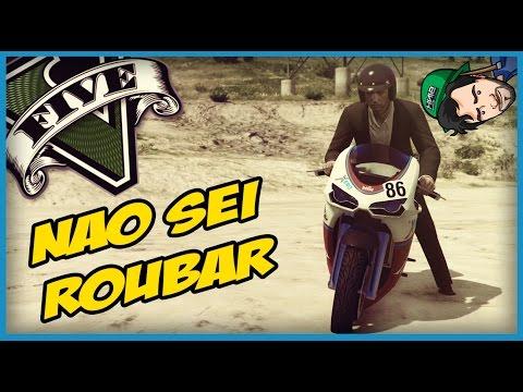 GTA V ONLINE: NEM ROUBANDO EU CONSIGO!!!   DESISTO!!