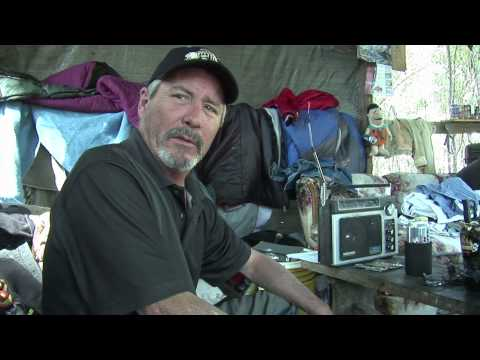 OUT OF THE WOODS: Life and Death in Dirty Dave's Homeless Camp