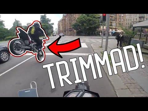 Åker trimmad moped genom GBG [Svensk Motovlogg]