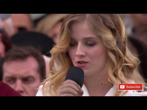 National Anthem Inauguration Day 2017 AMAZING Jackie Evancho Sings President Donald Trump Sing Along