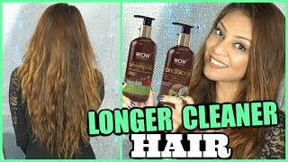 WOW APPLE CIDER VINEGAR SHAMPOO + CONDITIONER HONEST REVIEW│ INDIA'S #1 BEST TOP SELLING SHAMPOO?