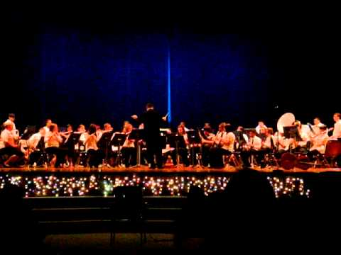 Bellamy Middle School Winter Concert 2010-Little Drummer Boy