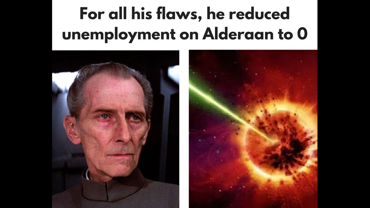 Apologise, star wars unemployment not