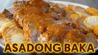 Masarap at Malinamnam na Asadong Baka | Easy Beef Stew Recipe