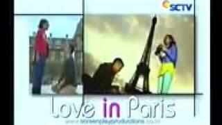 Love in Paris season 1 - Reno Yasmin lihat sunset di  Eiffel-