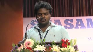 """Engal Svasam"" tamil poetry-Svasam Awards 2015 (PART-III)"