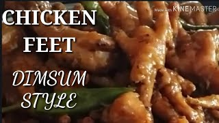 COOKING 101 : CHICKEN FEET DIMSUM STYLE / FILIPINO DELICACY /  YOU MUST TRY / SIMPLY  DELICIOUS.