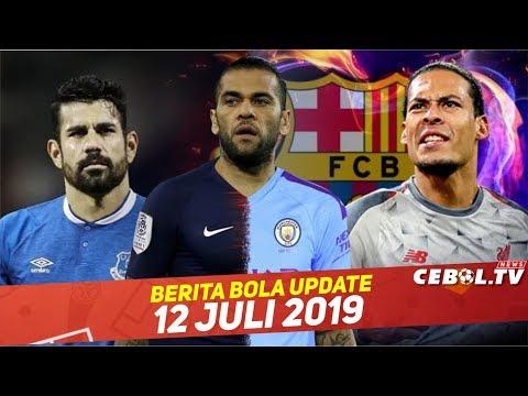 Van Dijk Diincar Barcelona 🔴 Diego Costa Diminati Everton 🔴 Dani Alves Ke Man City