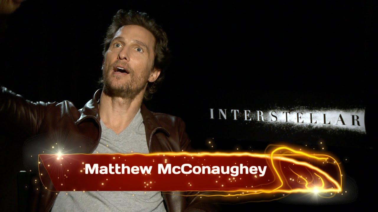 INTERSTELLAR Interview w/ Matthew McConaughey - YouTube