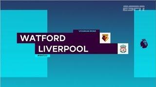 Veja os lances da vitória do Liverpool por 3x0 contra o Watford na 13ª rodada da Premier League