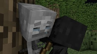 - The Life of a Skeleton GhostBlock Minecraft Animation