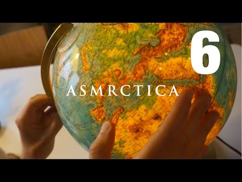 ASMR Earth Globe Soft Spoken Show And Tell