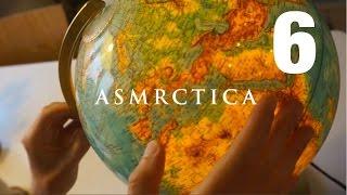 ASMR Earth Globe Soft Spoken Show And Tell