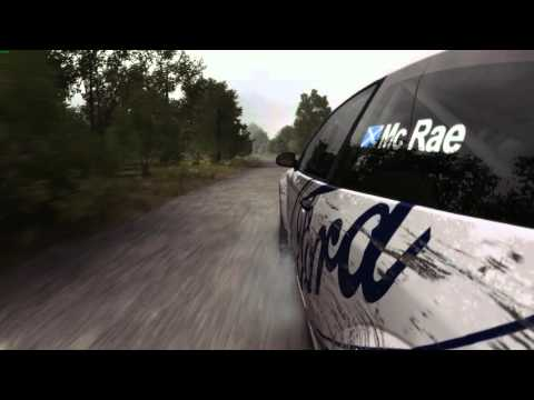 Dirt Rally Replay, 2001 Ford Focus in Baumholder Germany