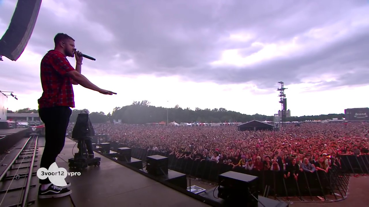 Imagine Dragons - Believer - Pinkpop 2017 (HD Live Show)